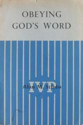 Obeying God's Word: Cover