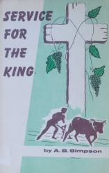 Service for the King: Cover