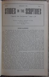 Studies in the Scriptures Volume XXVII 1948