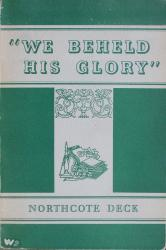 """We Beheld His Glory"": Cover"