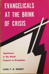 Evangelicals at the brink of crisis: Cover
