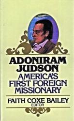 Adoniram Judson: Cover