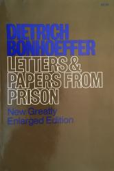 Letters and Papers from Prison: cover