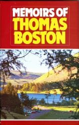Memoirs of Thomas Boston: Cover