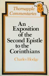 An Exposition of the Second Epistle to the Corinthians: Cover
